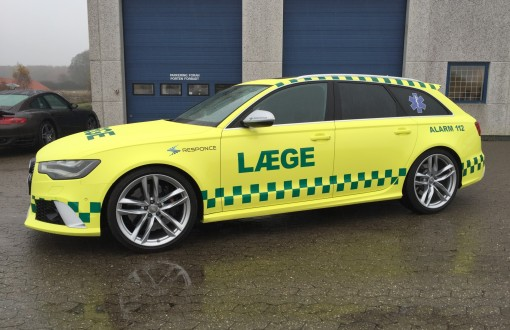 Audi rs6 laegebil refelks